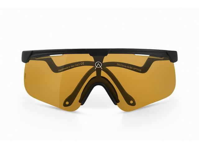 ALBA Optics Delta Mr Gold Glasses Herren black